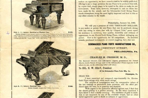 Schomacker Piano Catalog 4