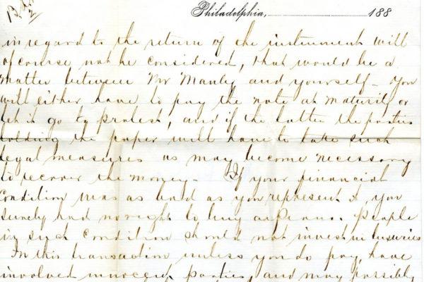 Letter from Schomacker 3