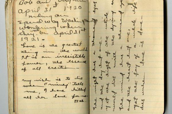 Inscription by Virginia Lee Minor