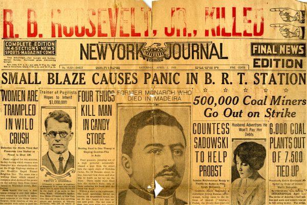 NY Journal headline