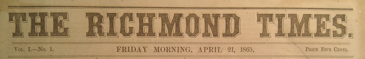 Eye Witness Account of Lincoln's Assassination and Funeral Preparations
