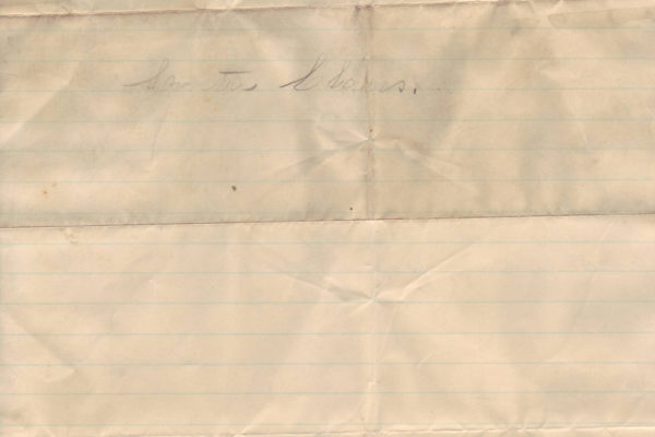 Letter from Mamie Yates pg. 2
