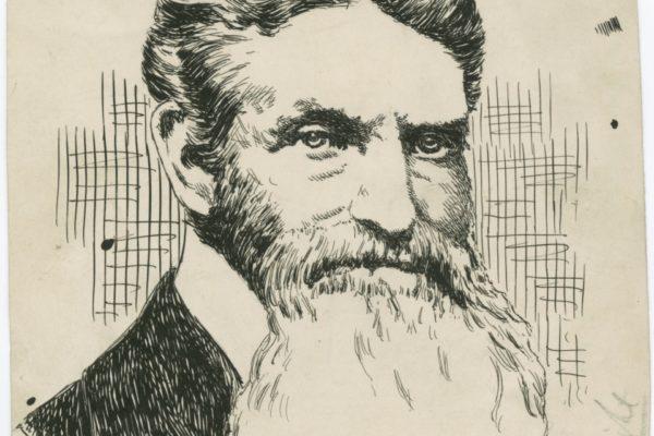 Drawing of John Brown