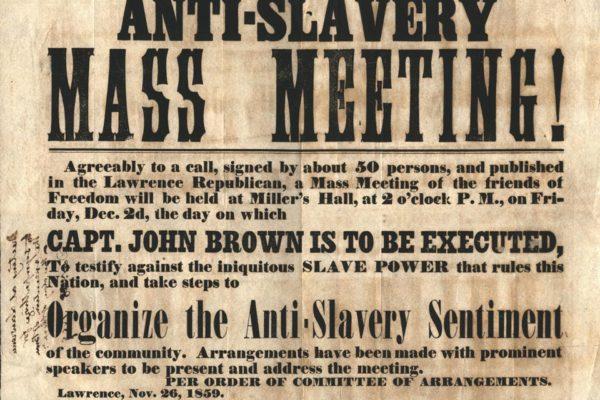 Anti-Slavery Mass Meeting