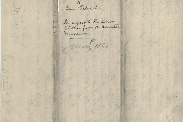 Letter from William Smith