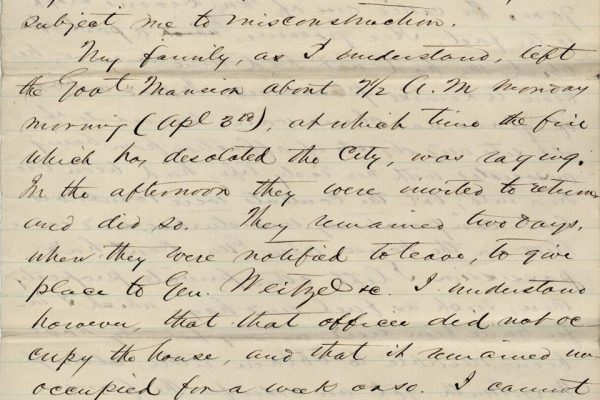 Letter from William Smith pg. 3