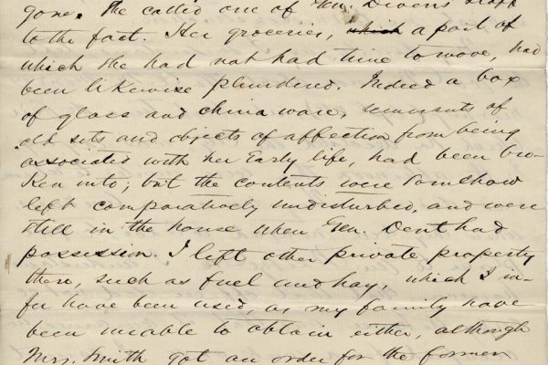 Letter from William Smith pg. 4