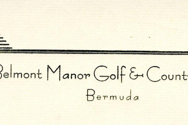 Belmont letterhead