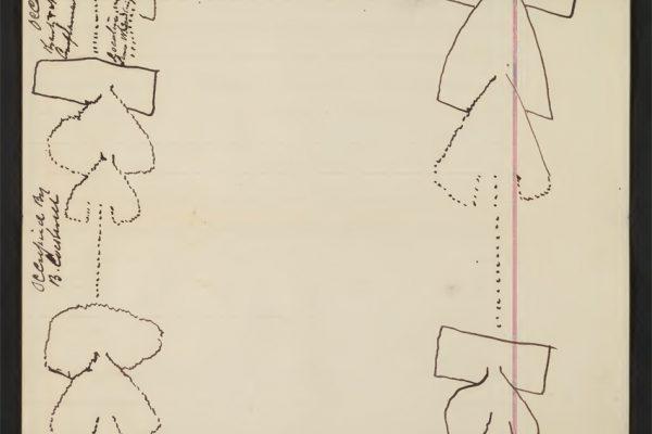 Diagram of fishing trap