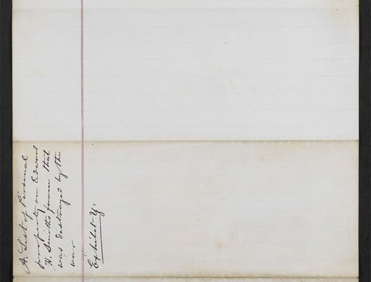 Personal inventory of Edward Smith