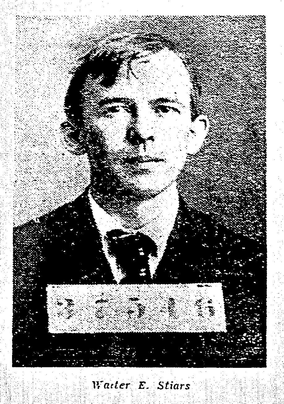 Mug Shot Monday:  Walter E. Stiars, No. 5833