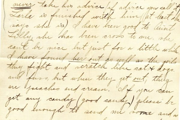 Larla Shelley to Nannie Shelley pg.2