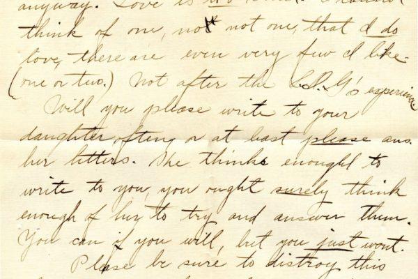Larla Shelley to Nannie Shelley pg.4