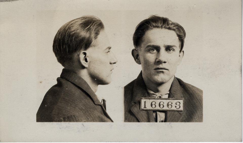 Mug Shot Monday:  Charles E. Beckner, No. 16663