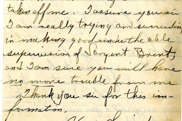 Letter from Calvert pg. 2