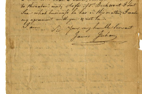Letter to James Southall pg. 2