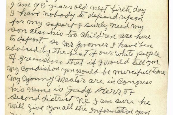Letter from Rev. Lindsay Carr pg. 2