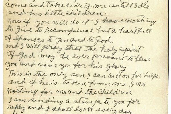 Letter from Rev. Lindsay Carr pg. 3