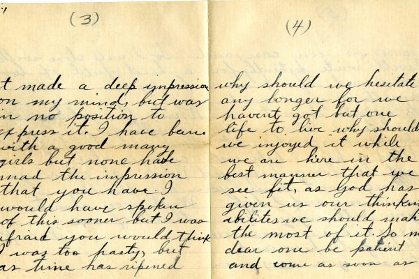 Letter from Roberts pg. 2