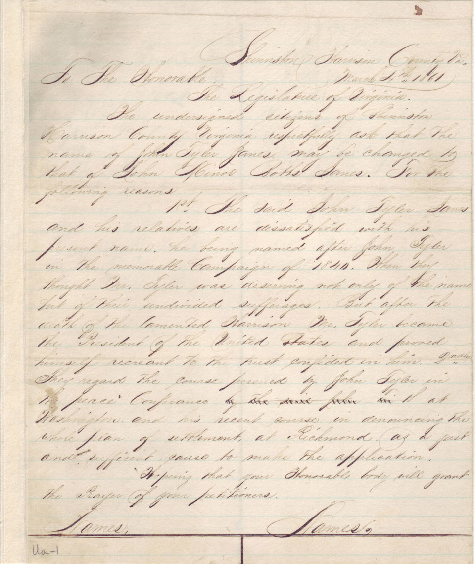 Latest Digital Images of Legislative Petitions Now Available