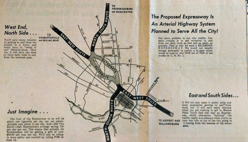 A Look Back at the Richmond Downtown Expressway