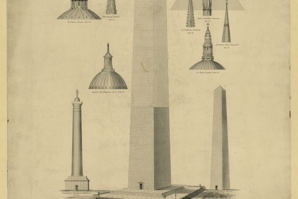 Plan of monument