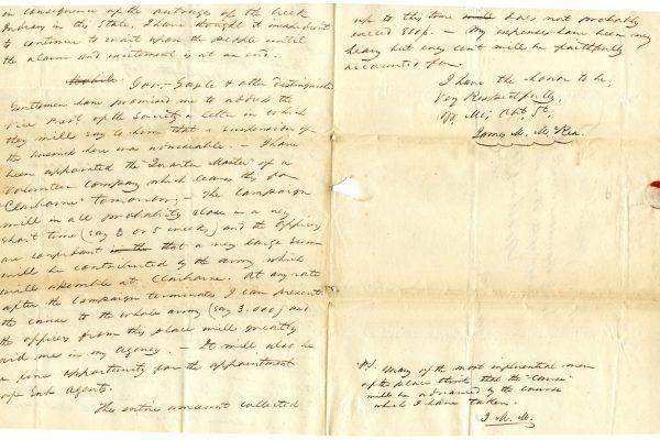 Letter from McRea pg. 2
