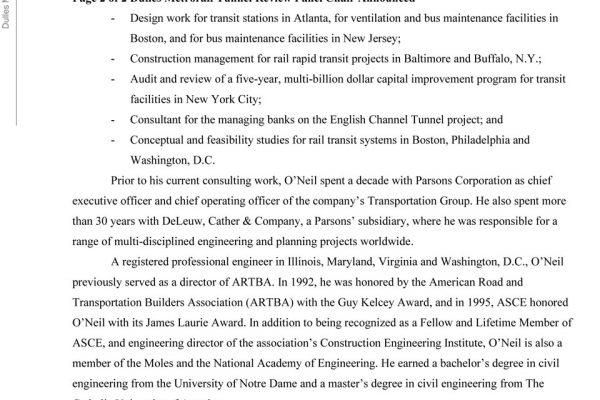 Dulles Metrorail Panel pg. 3