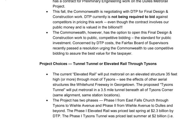 Tysons Tunnel Town Hall pg. 7
