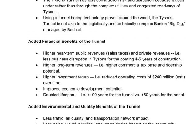 Tysons Tunnel Town Hall pg. 8