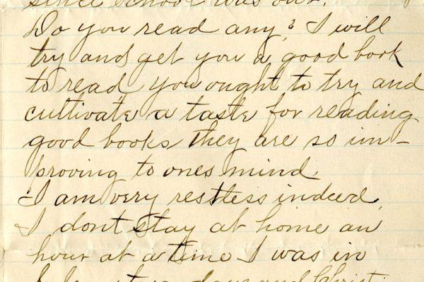 Letter pg. 2