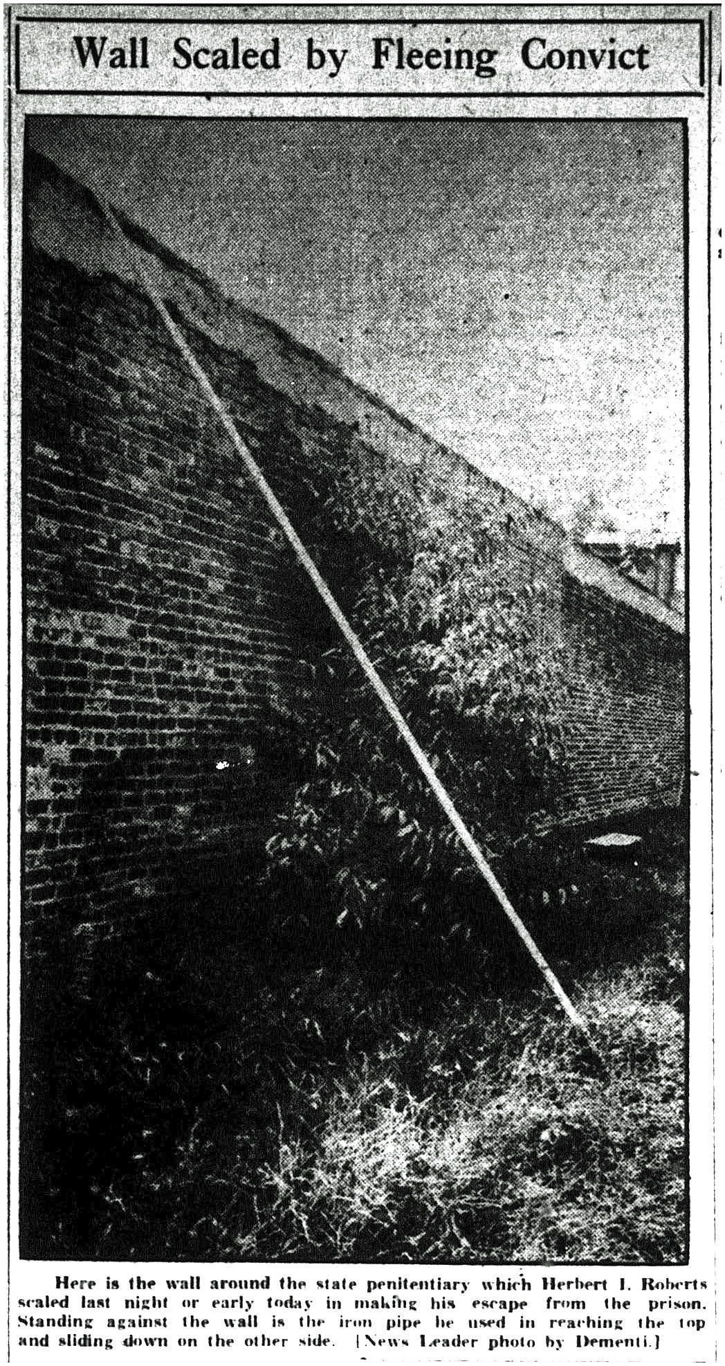 Mug Shot Monday:  Herbert Irving Roberts, No. 22087