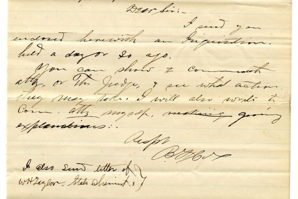 Bedford County Coroners' Inquisition pg. 3