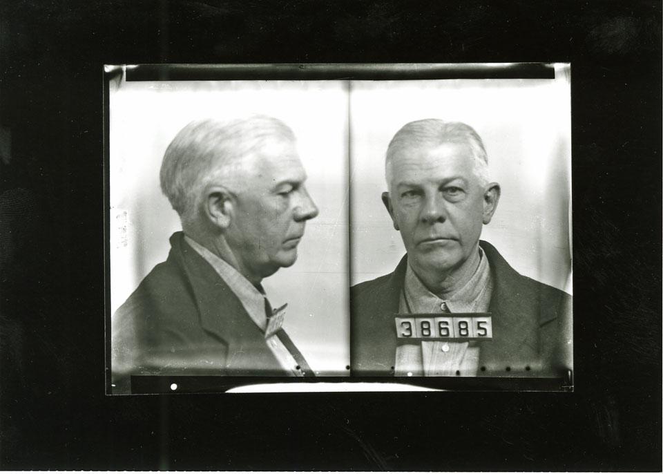 Mug Shot Monday:  Dr. Robert S. Fitzgerald, No. 38685