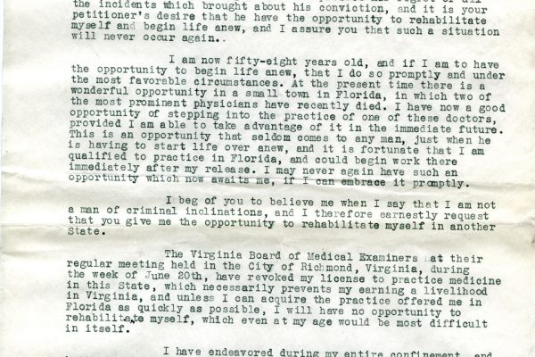 Letter from R.S. Fitzgerald