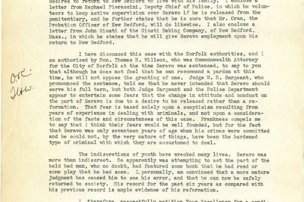 Letter from J. Gary pg. 2