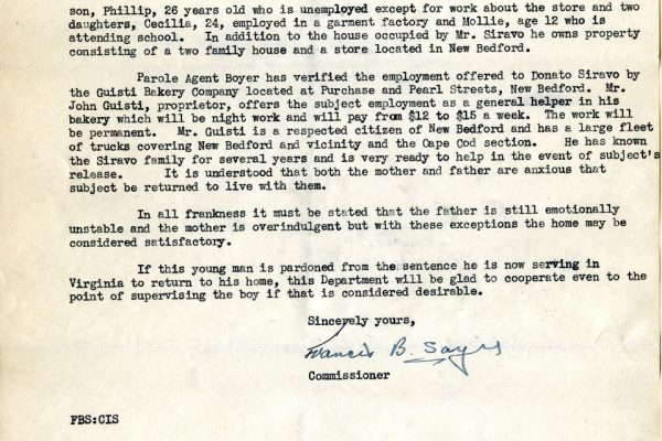 Letter from Francis Sayre pg. 3