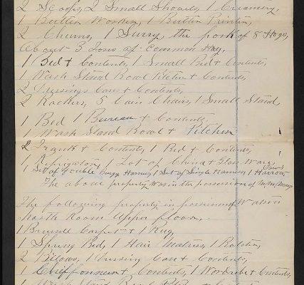 List of property