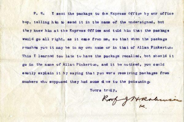 Letter to Dr. Hamilton pg. 2