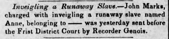 Daily Crescent (New Orleans, LA) 15 July 1851