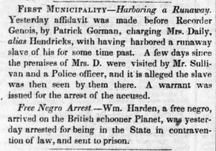 Daily Crescent (New Orleans, LA) 22 September 1848