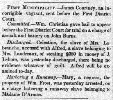Daily Crescent (New Orleans, LA) 27 September 1848