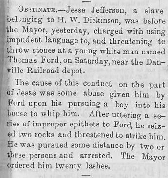 Morning Mail (Richmond, VA) 13 June 1854
