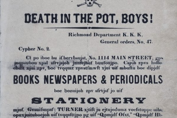 Ku-Klux Klan Department papers