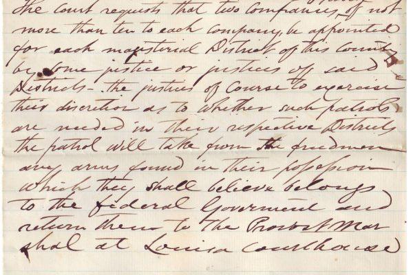Manuscript of Governor Peirpont
