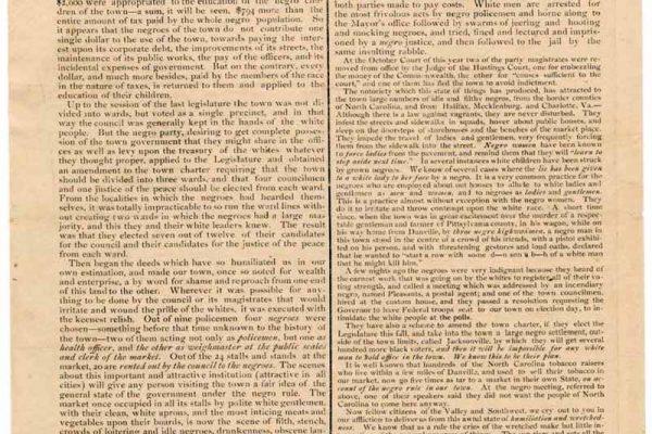 Broadside 1822