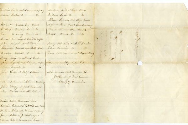 Page 2, Brunswick County (Va.) Requisition of Free Negroes, 1861.