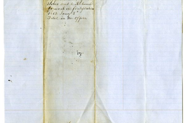 Page 2, Franklin County (Va.) Requisition of Slaves, 1865