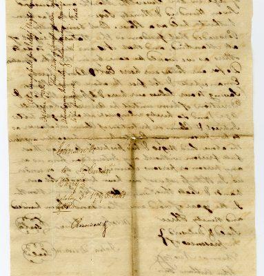 Page 2, Isle of Wight County (Va.) Deed of Emancipation, Abraham Johnson and John Denson to Harry, 1796
