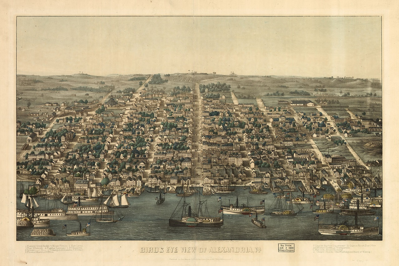 Alexandria in a time of war: From Mansion House to Camp Distribution